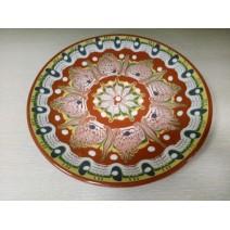 Plate bulgarian traditional 22 cm